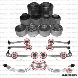 Kit 10 silentblocs suspension avant