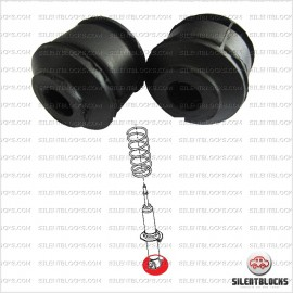 2 front sock absorber bushes, Nissan
