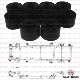 Kit complet body lift +5cm Nissan Patrol GR Y60