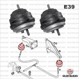 Supports moteur Serie 5 (E39)